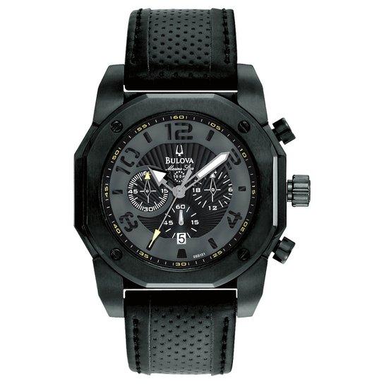 5e4826cf7c8 Relógio Bulova Analógico WB31238P Masculino - Preto - Compre Agora ...