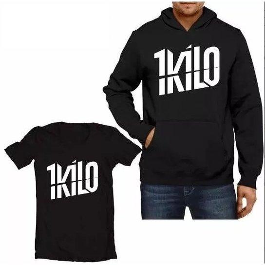3d7acc5439206 Kit Moletom 1 Kilo + Camiseta - Compre Agora