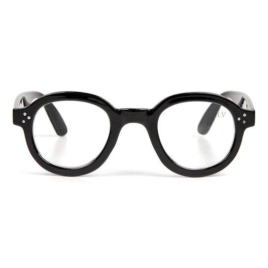 2ddded6d35038 Armação de Óculos Katarina Magalhães Luma Ventura Penny Feminino - Preto