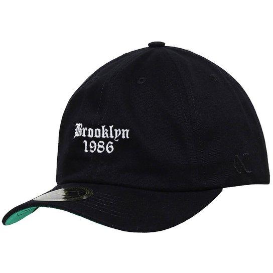 Boné Other Culture Aba Curva Strapback Brooklyn  D - Compre Agora ... 878504aa293