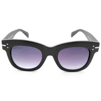 fe5727a15f384 Óculos de Sol Gio Antonelli Fosco Lente Cinza Degradê Feminino