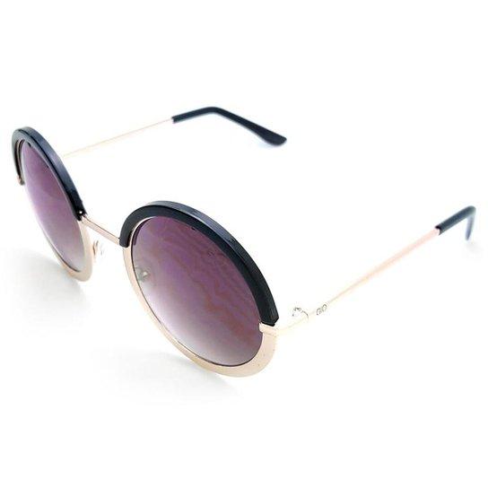 e218404eacc77 Óculos de Sol Gio Antonelli Lente Cinza Degradê Feminino - Preto ...