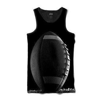 bd3c15ea9c Camiseta Attack Life Regata Futebol Americano Sublimada Masculina