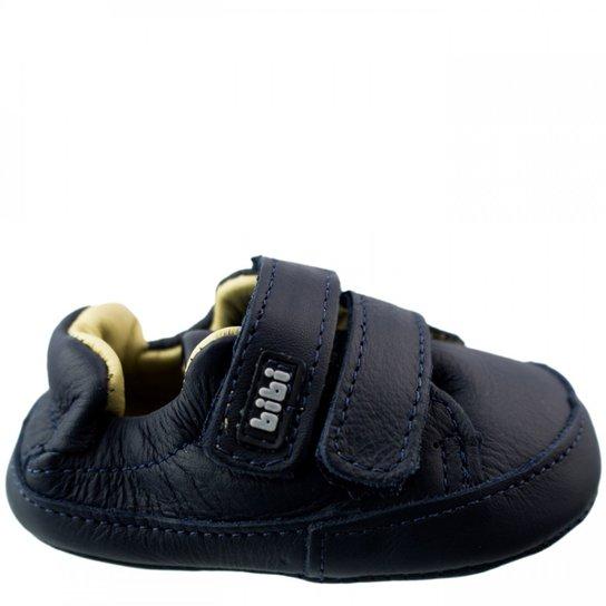 99b00d159e Tênis Bebê Bibi Couro Afeto New VII - Azul - Compre Agora