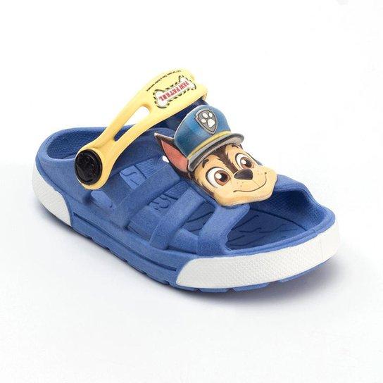 84c027d1d85 Babuche Infantil Plugt Dude Chase - Azul - Compre Agora