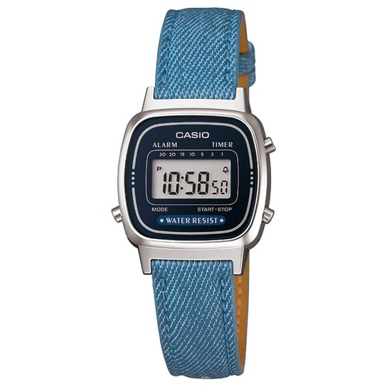9eb9e7356c3 Relógio Casio Digital LA670WL-2A2DF Feminino - Compre Agora