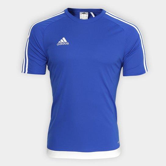 Camisa Adidas Estro 15 Masculina - Azul - Compre Agora  dd3aaad7cd5e5