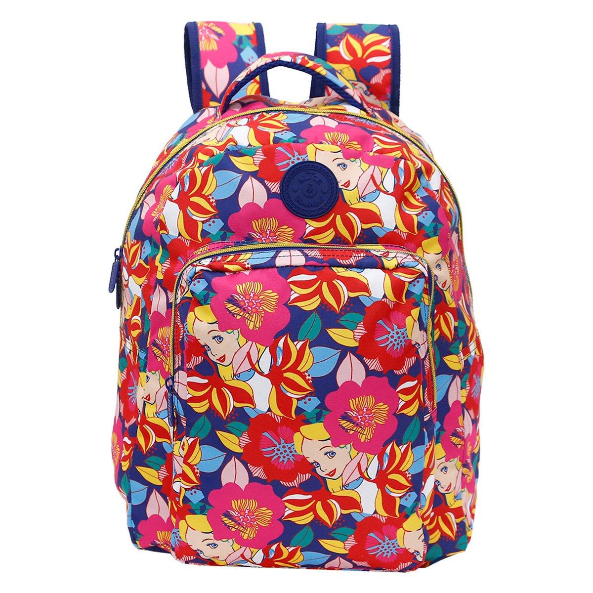 Mochila Infantil Escolar Xerys Disney Alice