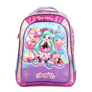c03e30be6 Mochila Infantil Escolar Xeryus Shoppies Sweet Friends