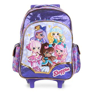8674d1bb5 Mochila Infantil Escolar Xeryus Shoppies Shop Together com Rodinhas