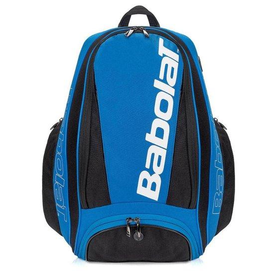 Mochila Babolat Pure Drive - Azul e Preto - Compre Agora  aab6eee8e65