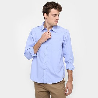 bc6f6568d2 Camisa Blue Bay Lisa Regular Fit Bolso