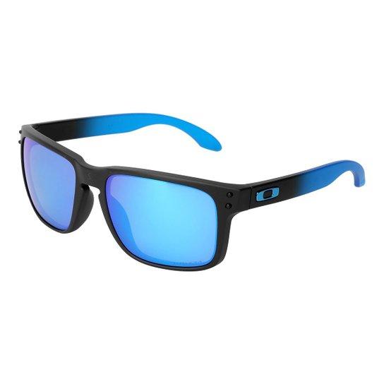 0e706317b Óculos de Sol Oakley Holbrook Masculino - Azul | Zattini