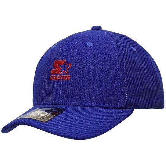 Boné Starter Aba Curva Mini Logo Colors   - Azul - Compre Agora ... 87696ab21d8