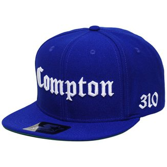 48678a3996adb Boné Starter Aba Reta Snapback Compton