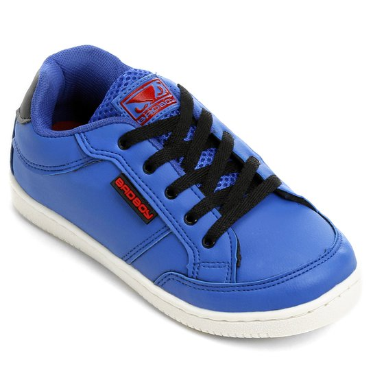 ac636f65d54 Tênis Bad Boy Skate II Infantil - Azul Royal+Preto