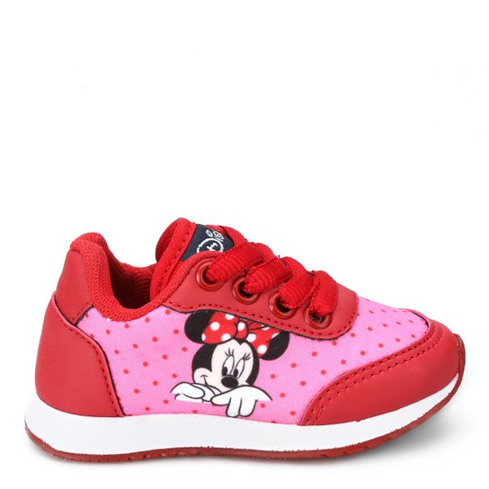 cf97b3ee47b Tênis Infantil Disney Minnie Feminino - Compre Agora