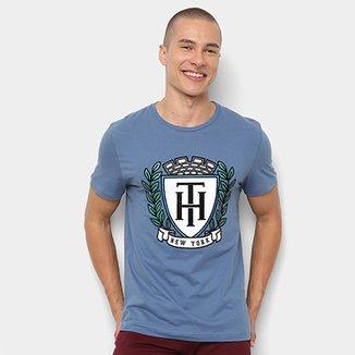 7c106d7b296 Camiseta Tommy Hilfiger Estampa New York Masculina