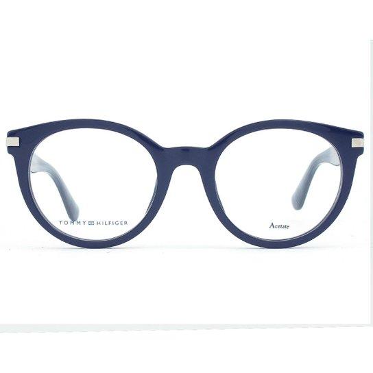 70a8b99f6 Óculos de Grau Tommy Hilfiger TH Feminino - Azul | Zattini