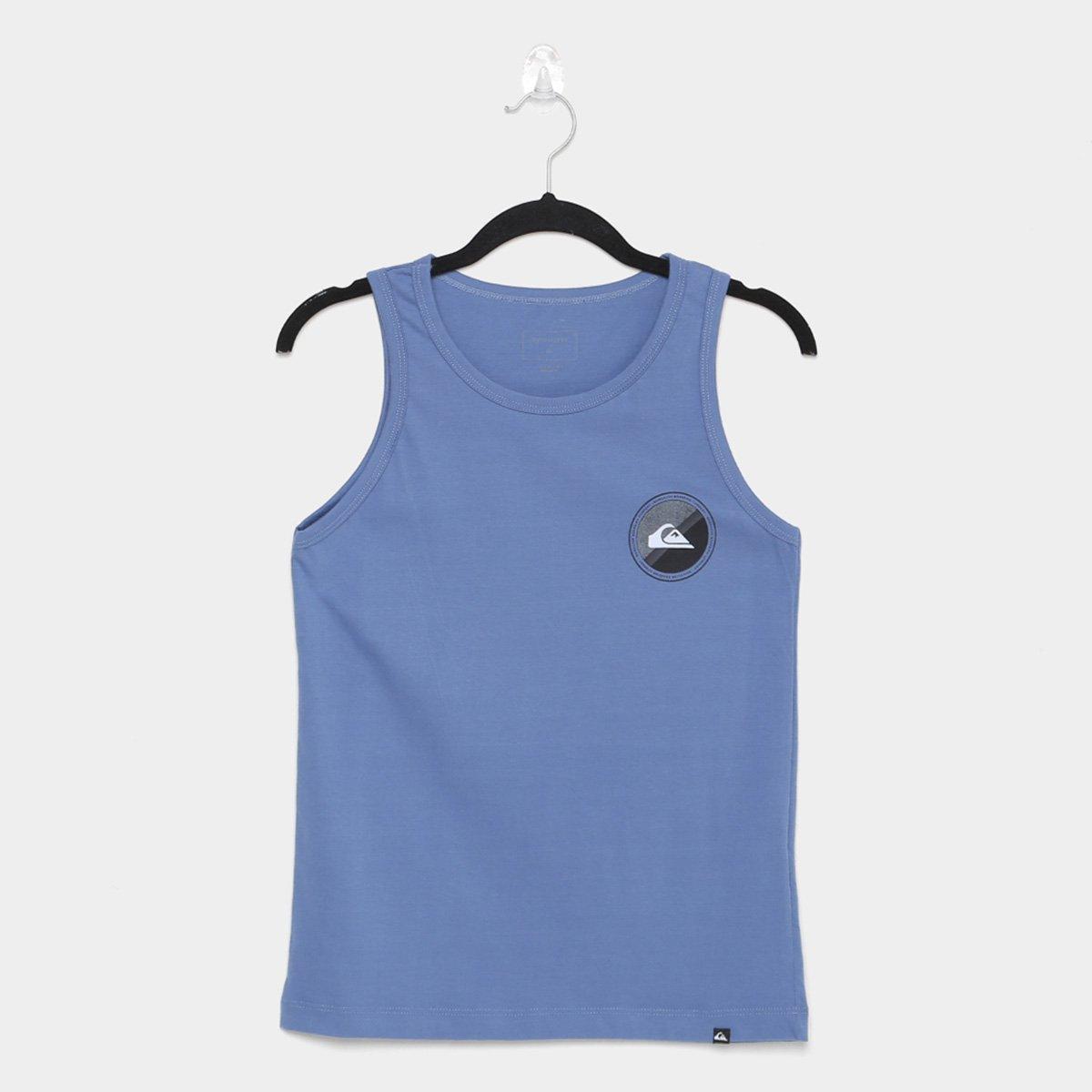 Camiseta Regata Infantil Quiksilver Board Masculina