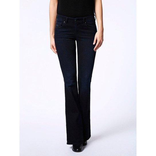 3d90a42ee Calça Jeans Diesel Sandy-B Feminina - Azul | Zattini