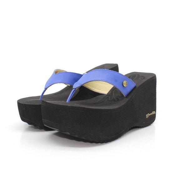 f9d2636baa Tamanco Barth Shoes Sorvete Bicolor Tratorado - Azul - Compre Agora ...