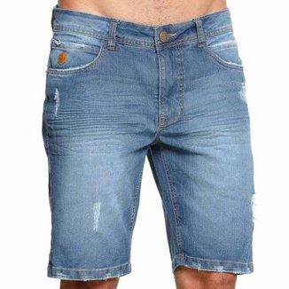 0c5fa15bd Bermuda Jeans Diferenciada Vlcs 18791 Masculina