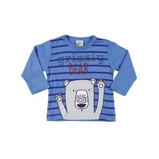 84e6f7d229 Camiseta Manga Longa Infantil Para Bebê