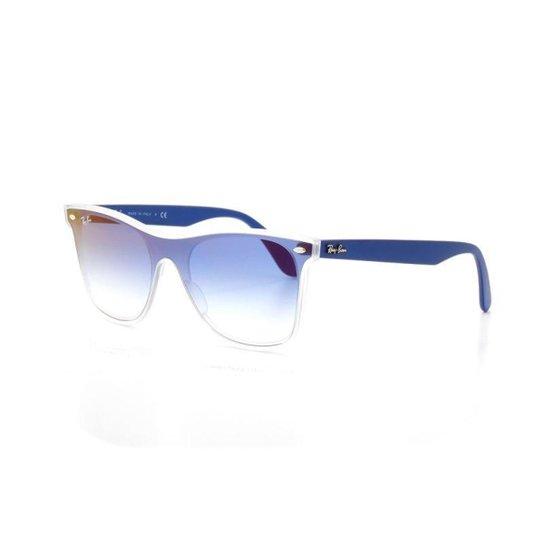22fb7fcb95a6b Óculos De Sol Ray Ban Wayfarer 4440-N T 41 C 6356 X0 - Azul - Compre ...