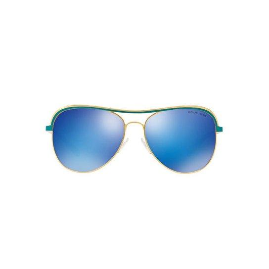 Óculos de Sol Michael Kors Piloto MK1012 Vivianna I Feminino - Azul 9378beb82d