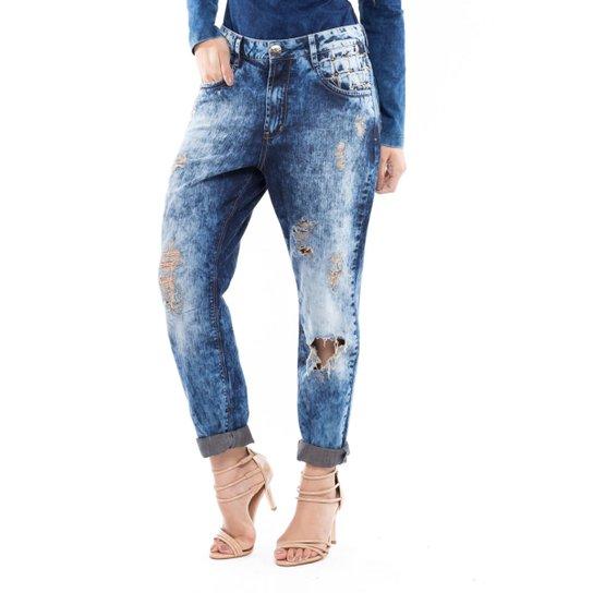 e97e1ca525 Calça Boyfriend Denuncia Jeans - Compre Agora