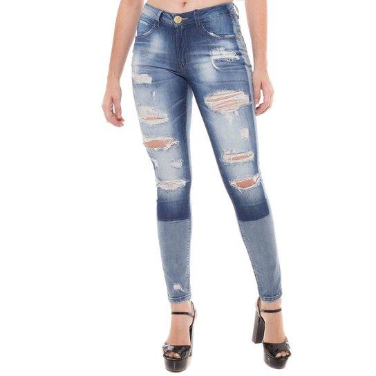 Calça Jeans Cigarrete New Skinny Denúncia - Compre Agora  6e885a19bf8