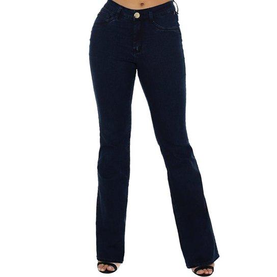 45fcb51e0 Calça Jeans Denuncia Mid Rise Flare Feminina - Compre Agora