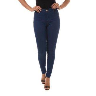 e9aad714d Calça Jeans Denuncia Mid Rise Skinny Feminina