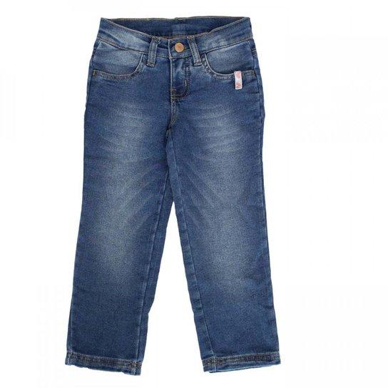 a80305e41836c Calça Skinny Infantil Hering Kids Feminina - Azul - Compre Agora ...