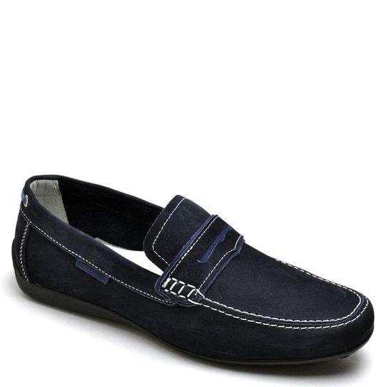 83fdddf3c7 Mocassim Top Franca Shoes Casual Masculino - Azul - Compre Agora ...