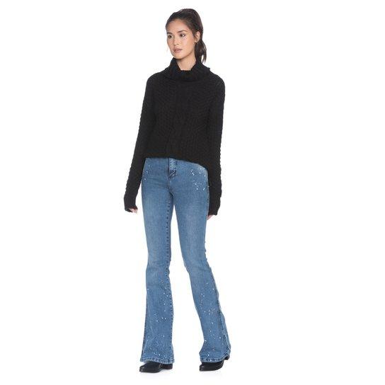 5d4403f3a Calça Amaro Jeans Feminina Flare Ink - Compre Agora | Zattini