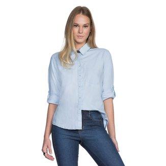 d3dad885c2 Camisa Amaro Jeans Patchwork