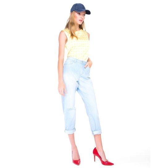4d6e585167 Calça Amaro Jeans Mom - Compre Agora