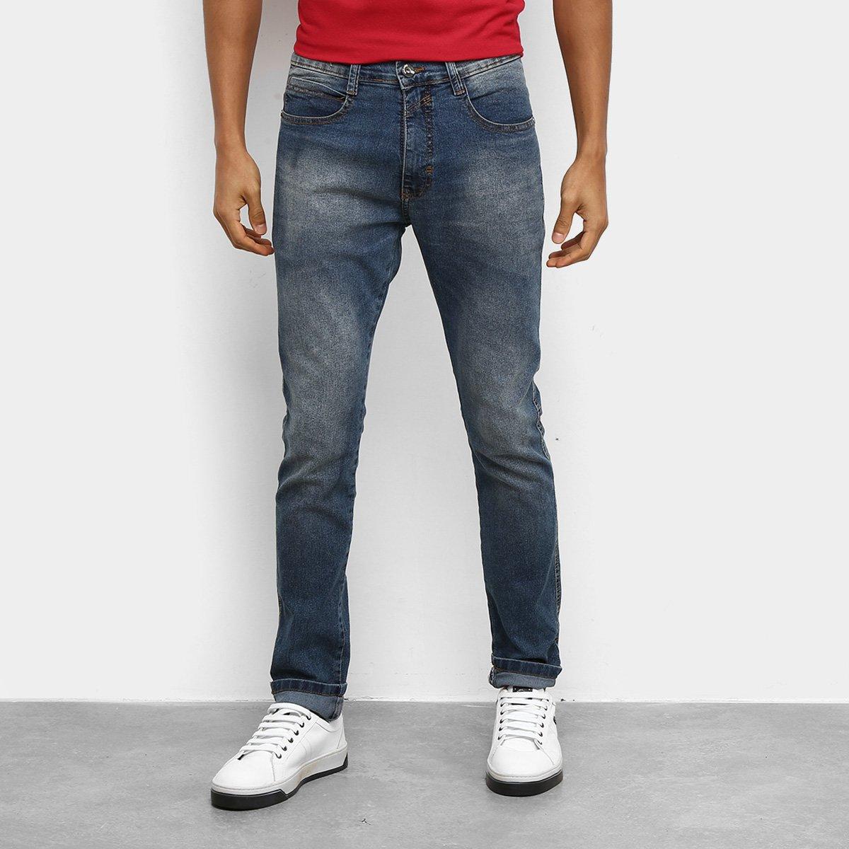 Calça Jeans Slim Ecko E845A Masculina