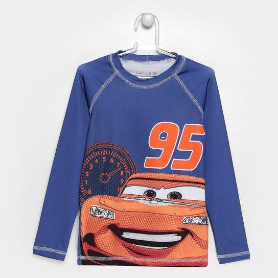 Camiseta Infantil UV Line Acqua Carros Manga Longa - Compre Agora ... 82e64cb67f151