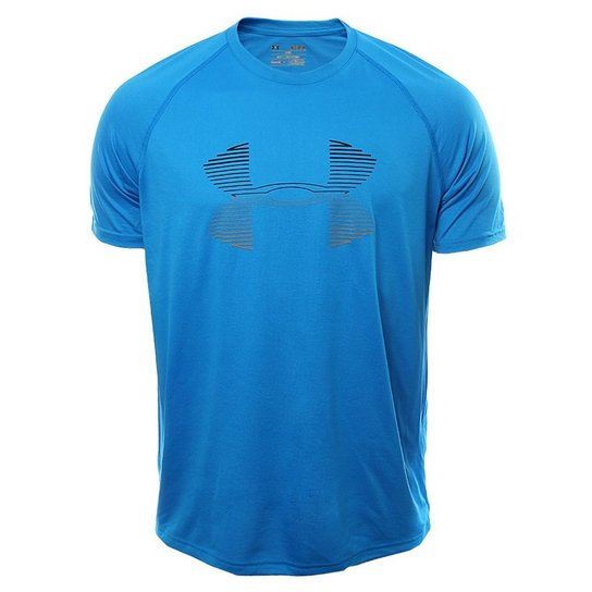2663f4f600d Camiseta Under Armour Tech Horizon Big - Azul - Compre Agora