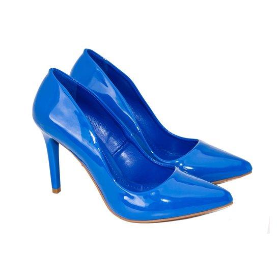 0517061e5e Sapatos Saltare 588.3416Color Azul Bic 34 - Compre Agora