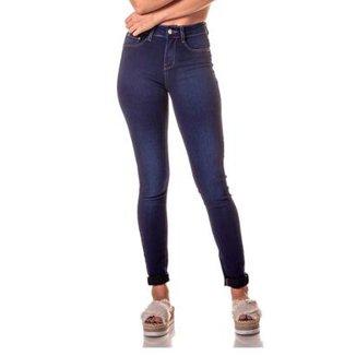 df31af499 Calça Jeans Denim Zero Skinny Média Clássica Escura Feminina