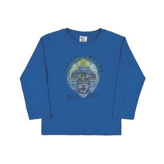 Camiseta Royal Primeiros Passos Menino Meia Malha 9acabf3956c48