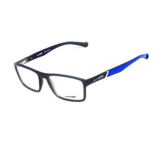 7cd8f36868302 Armação De Óculos De Grau Arnette 7089L T 55 Masculino - Azul ...