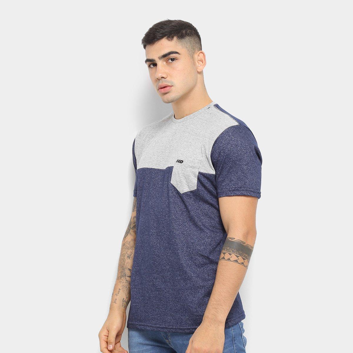 Camiseta HD Inverted Blocks Masculina