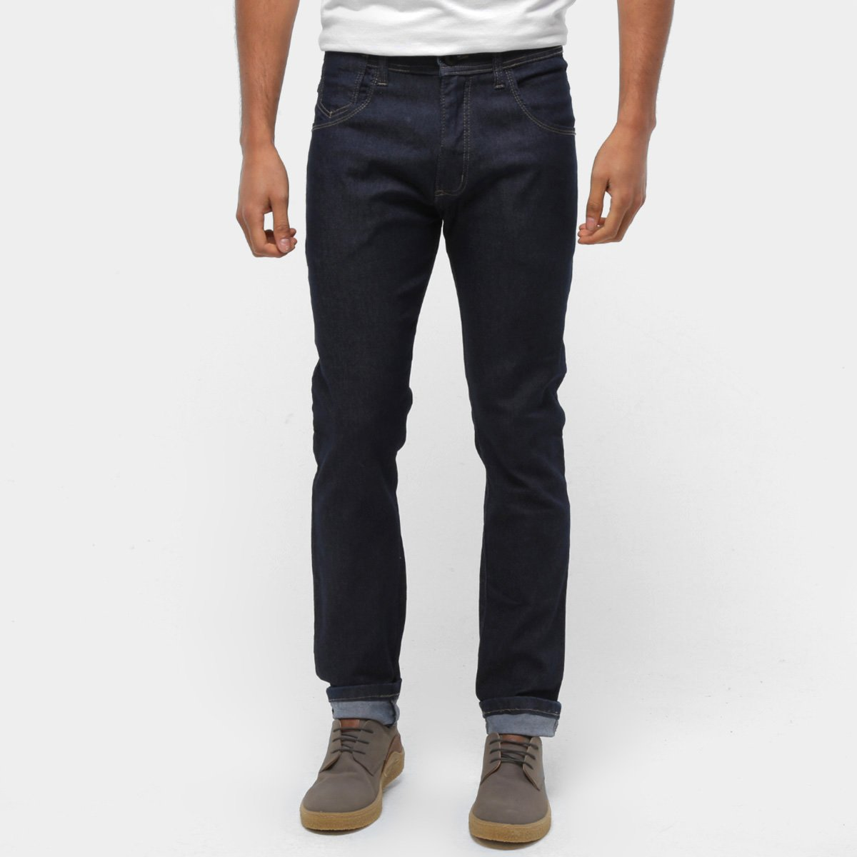 Calça Hd Jeans Slim Fit Lisa Masculina