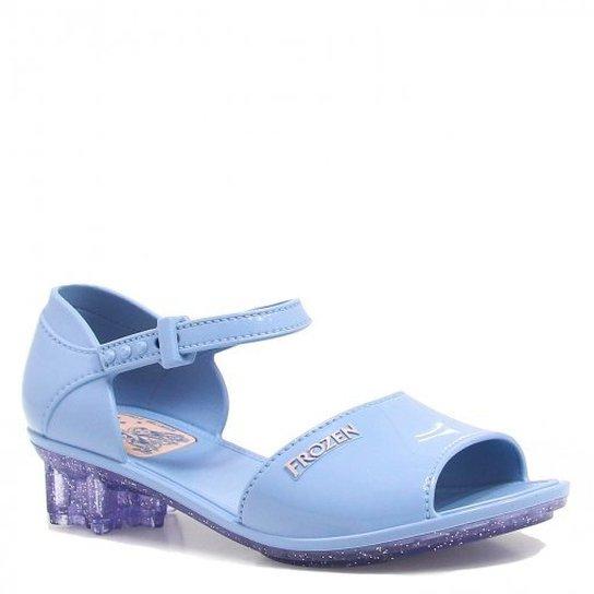 9c48285c897 Sandália Grendene Kids Frozen Brilho - Azul - Compre Agora