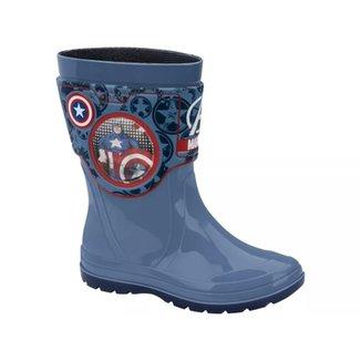 4483dd2b053 Galocha Marvel Holográfico Capitão América